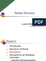 Redes Neurais Luana