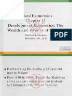 Naked Economics Chapter 13 Development Economics