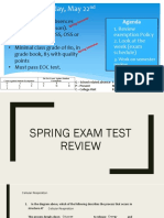 semester 2 test review