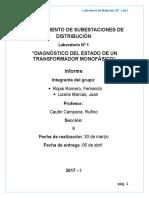 Mantenimiento de Subestaciones de Distribucion Lab1