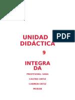 Unidad 3º2016 Nov.integrada con rutas de aprendizaje