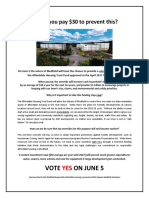 June 5 Vote Yes Flyer