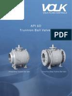 VOLK Valves API 6D Catalog