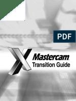 MastercamX Transition Guide