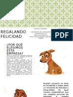 REGALANDO FELICIDAD