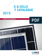 Hanwha Q CELLS Product Catalogue 2015