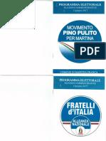 4.Programma Amministrativo Del Candidato Sindaco Giuseppe Pulito