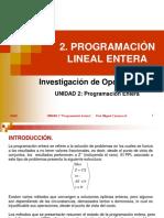 Au21 Programacion Lineal Entera