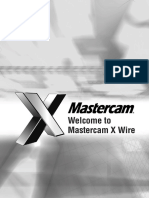 Welcome to Mastercam X Wire booklet.pdf
