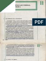 Filosofía 11- El Lenguaje Formal La Lógica.pdf