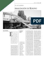 La Frágil Normalización de Kosovo