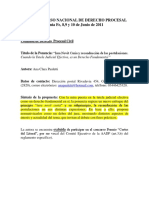 Jura Novit Curia y La Reconduccion Procesal
