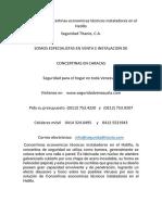 Servicios de Concertinas Economicas Técnicos Instaladores en El Hatillo