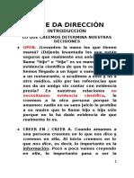 Predicación - La Fe Da Dirección
