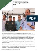 """24-05-2017 """"Montería no está sitiada por las bandas criminales""""- Alcalde - LARAZON.CO"""
