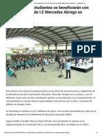 24-05-2017 de 1.600 estudiantes se beneficiará...rcedes Abrego en Montería - LARAZON.CO