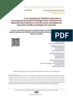 Dimensiones de las competencias científicas esbozadas en los programas de estudio de Biología, Física y Química de la Educación Diversificada.pdf