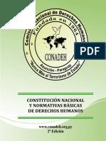 Constitucion y Otros CONADEH - DDHH