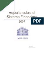 Reporte Sobre El Sistema Financiero Banxico