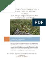 Recuperación, Restauración y Protección Del Paisaje Natural