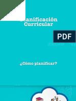 Planificación Curricular Marzo 2017