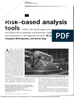 Risk-based Analysis Tools
