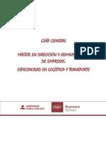 Guia Mba Especialidad Logistica y Transporte ADR