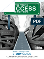 Commercial Drivers License (CDL) Study Guide