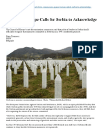 Acknowledge Genocide Srebrenica Engl
