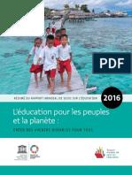 Rapport Mondial Sur l'Education