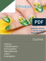 Kosmetologi -Nail Product