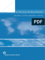 MOODY - Glosario de Terminos de Securitizacion
