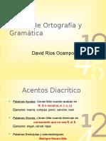 Reglas de ortografía y gramatica