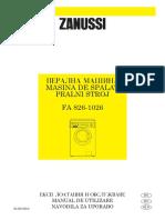 Masina de Spalat ZANUSSI FA1026