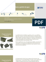 Fragmentación Urbana a Través de Redes de Agua 04 Mayo 17 - Juan Cabrera