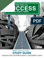 Arizona Educator Proficiency Assessments (AEPA) Exam Study Guide