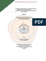 Pengaruh Struktur Modal Dan Profitabilitas Terhadap Nilai Perusahaan (Sadhar)