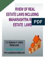 Real Estate Seminar CA Rajkumar Adukiya