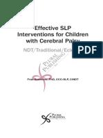 Effective SLP