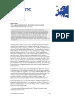 The Origins and Elements of Imitation Democracies (Furman)