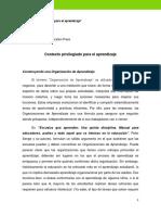 OTCM1 Contexto Privilegiado Para El Aprendizaje