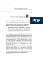 4 a Meta‐Analytic Examination of the Relationship Between Job Satisfaction and Subjective Well‐Being (1)