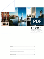 Trump Org Pamphlet on Foreign Profits