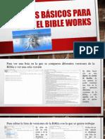 Pasos Básicos Para Usar El Bible Works 1 (1)