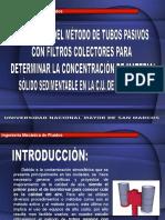 Presentacion Validacion de t.p. Con Filtros