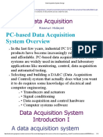 Data Acquisition System Design