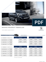 Peugeot Traveller, il listino