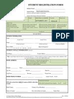 Student Registration20172018 Form (1)