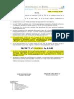 Decreto Aprueba Ttrr 231-16