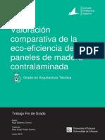 Valoracion Comparativa de La Ecoeficiencia de Los Pane ESTEVEZ CHORRO RAUL